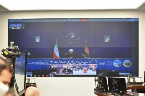 Rouhani Inaugurates major oil, gas projects worth €4.7b